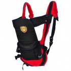 Shubeikangbi 63388 4-in-1 Comfortable Baby Carrier Sling - Deep Blue + Red