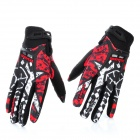 Scoyco MX44-XL Full-Finger Motorcycle Racing Gloves - Black + Red + White (Pair / Size XL)