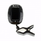"JOYO JT-188 1.5"" LCD Digital Chromatic Tuner for Guitar / Bass / Violin - Black (1 x CR2032)"