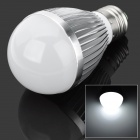 E27 5W 7000K 270lm 10-LED Cool White Light Bulb - Silver (AC 85 ~ 265V)