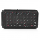 Bluetooth V2.1 + EDR Wireless Keyboard with Rotatable Case Holder for Iphone 4 / 4S - Black