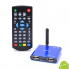 Jesurun Mini Xplus II Android 4.0 Google TV Player w/ Wi-Fi / 1GB RAM / 8GB ROM / HDMI / AV - Blue