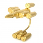 Creative Metal Bullet Shell Handicraft Display Model - Golden