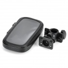 Outdoor Sports Bike Water Resistant Bag + Mount Holder for Samsung Galaxy S3 i9300- Black