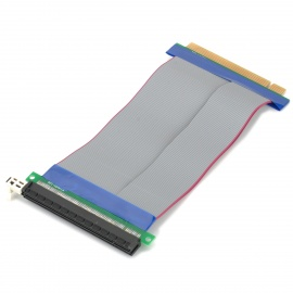 PCI-164-pin PCI-E 16X Riser Card Flex Ribbon Cable de extensión Extender flexible (15 cm)