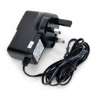 DC 5.5 x 2.5mm UK Plug Power Charger - Black (100~240V/144cm)