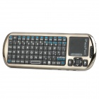 iPazzPort G18V R.F 2.4G Voice Wireless Mini Handheld Keyboard w/ IR Remote + Touchpad