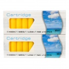 Elektronische Zigarette Cartridge Refills - Yellow (Mint Flavor / 2 x 10er)