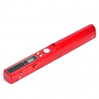 "SM-420 0.8"" LCD Cordless Handheld A4 Scanner w/ USB + TF Card Slot - Red (Max.32GB / 2 x AA)"