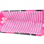 Cat Patten Children Carrying Bag Handbag - Pink + Blue + Black + White