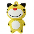Gato de dibujos animados estilo USB 2.0 Flash Drive - Amarillo (8GB)