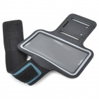 Outdoor Protective Lycra Fabric Armband for Samsung i9300 Galaxy S3 - Black