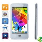 "ZOPO ZP300+ Android 4.0 WCDMA Bar Phone w/ 4.5"" Capacitive Screen, Wi-Fi, GPS and Dual-SIM - White"