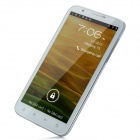 "N9970 Android 4.0 WCDMA Bar Phone w/ 6.0"" Capacitive Screen, Wi-Fi, GPS and Dual-SIM - White"