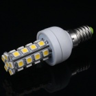 E14 5.8W 500lm 30-SMD 5050 LED Warm White Light Decoration Lamp
