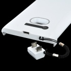 Rechargeable 2400mAh External Battery Back Case for Nokia L900 - White