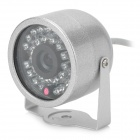 Vedenpitävä Night Vision IR 30-LED Camera (PAL/DC 12V 500mA)