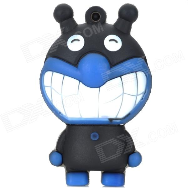 Cartoon Figure Doll Style USB 2.0 Flash Drive - Blue + Black (16GB) tps5410dr tps5410 sop8