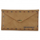 Envelope Style Protective PU Leather Case for Samsung i9300 / Iphone 5 - Brown