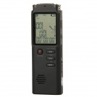"T-60 1.6"" LCD Digital Voice Recorder + MP3 Player Kit - Black (4GB)"