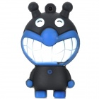 Cartoon Figure Doll Style USB 2.0 Flash Drive - Blue + Black (8GB)