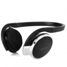 Rechargeable Stereo Bluetooth V2.1 Headset Headphone w/ Microphone - Black