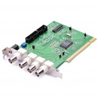 4-Channel DVR Video Capture PCI Card for 25/30 FPS Security Cameras