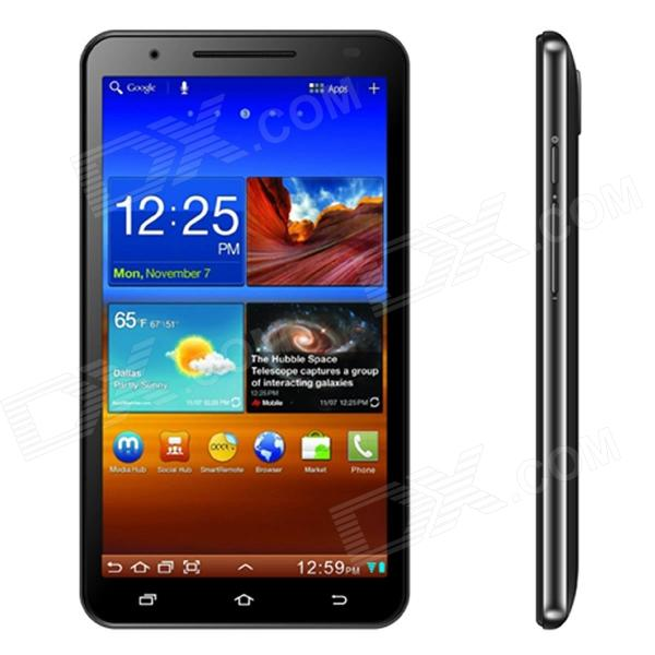 "Star N9776 Android 4.1 WCDMA Smartphone w/ 6.0"" Capacitive Screen, Wi-Fi, GPS and Dual-SIM - Black"