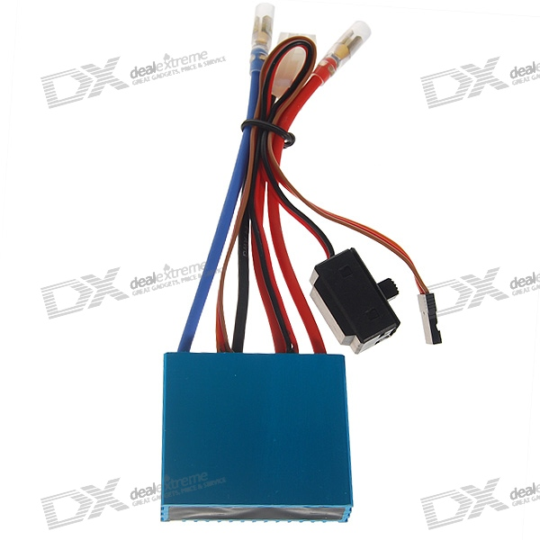 Waterproof Marine ESC Electric Speed Controller for R/C Model Boats (50A)