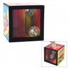 Kreative unterschiedlicher Hidden Light Flash Magic Plastic Piggy Bank - Rot