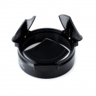 Plastic Automatic Lens Cap for Fuji X10 Camera - Black