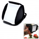 E23 Universal Folding Speedlight Softbox - Black (34 x 32 x 22cm)