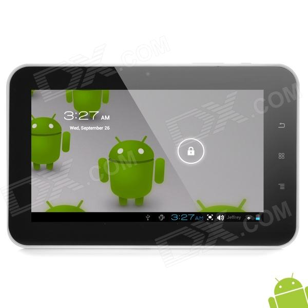 "E11-F 7.0"" Capacitive Screen Android 4.0 Tablet PC w/ TF / Wi-Fi / Camera / G-Sensor - White"