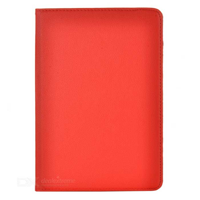 Protective Swivel 360 Degree Rotating PU Leather Case for Samsung Galaxy Note 10.1 N8000 - Red