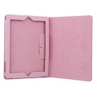 Protective PU Cover for Ipad2 / Ipad3 - Pink