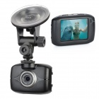 "2,0 impermeáveis ​​""Resistive Touch Screen 1.3 MP Esporte Câmera Digital / Filmadora Car DVR - Prata"