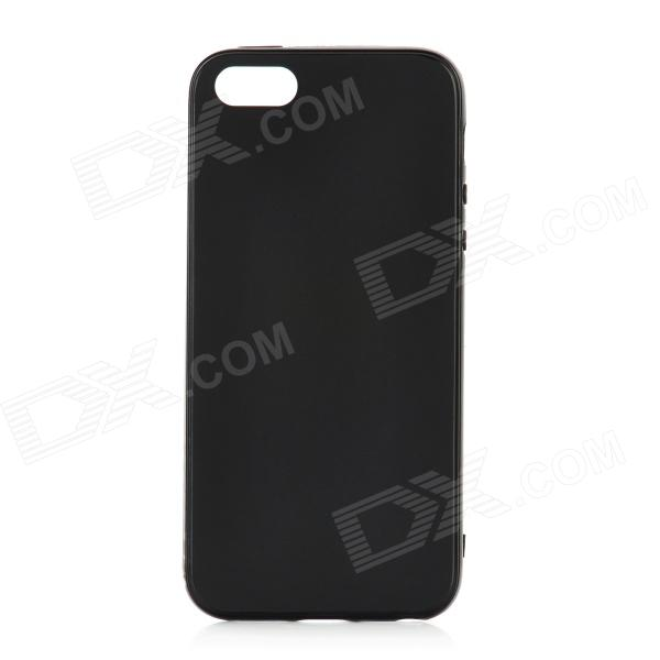 Fashion Protective TPU Back Case for Iphone 5 - Black