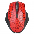 Jeway JM-6021 2,4 GHz 1600 DPI Wireless Mouse - Red + Black (2 x AAA)