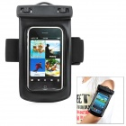 WP-310 Waterproof Case Bag w/ Armband for Cell phone / MP3 / MP4 / Digital Camera - Black