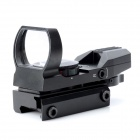 1 x 33mm Red / Green Light Dot Bird Sight Scope for DSLR - Black ( 1 x CR2032)