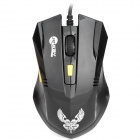 Jeway JM-6023 USB 1600DPI 6 Buttons Professional Gaming Wired Mouse - Black