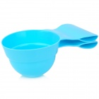 Puppy Dog Food + Dish Bowl - Light Blue