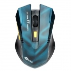 Jeway JM-6022 2,4 GHz 1600 DPI Wireless Mouse - Blue + Black (2 x AAA)