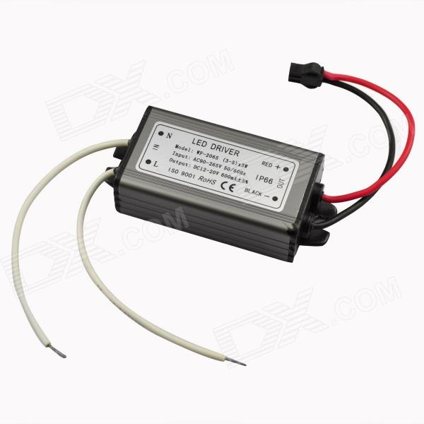 Water Resistant 9~15W LED Constant Current Source Power Supply Driver (90~265V) water resistance 19 24w led constant current source power supply driver 90 265v