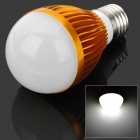 E27 5W 450LM 6500K Cool White Light 5-LED Globular Bulb (AC 85~265V)