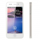 "Hero H2000+ Android 4.0 WCDMA Bar Phone w/ 4.0"" Capacitive Screen, TV, Wi-Fi and GPS - White"