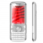"Q9 GSM Bar Phone w/ 2.4"" LCD Screen, Quad-Band, Dual-SIM, TV and FM - Silver"