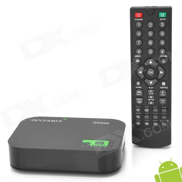A10 Mini Android 4.0 Google TV Player w/ Wi-Fi / LAN / 512MB RAM / 8GB ROM / HDMI / AV - Black