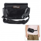 5M Waterproof Protective PVC Waist Bag for Camera - Black