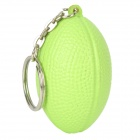 Rugby Football Style Keychain - Green